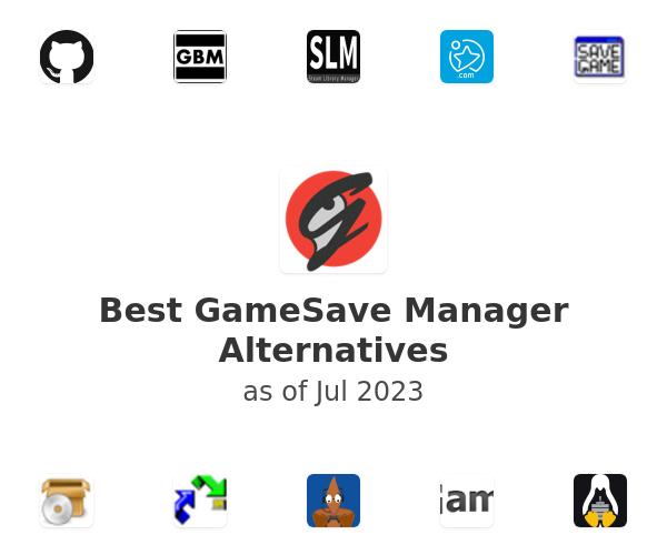 Best GameSave Manager Alternatives