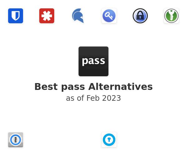 Best pass Alternatives