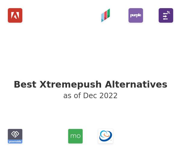 Best Xtremepush Alternatives