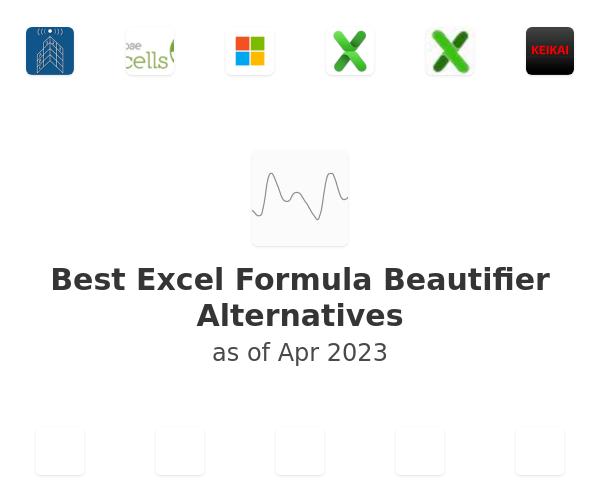 Best Excel Formula Beautifier Alternatives