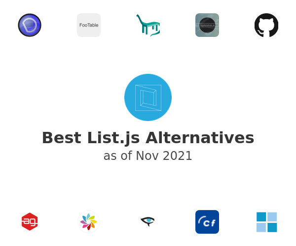 Best List.js Alternatives