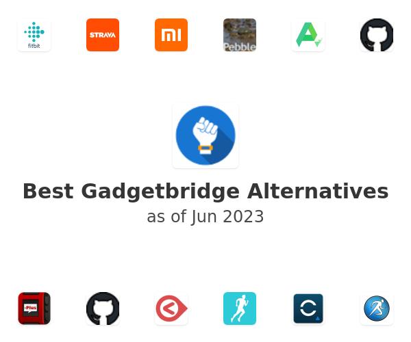 Best Gadgetbridge Alternatives