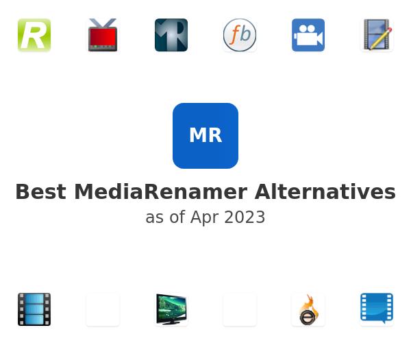 Best MediaRenamer Alternatives