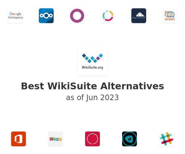 Best WikiSuite Alternatives