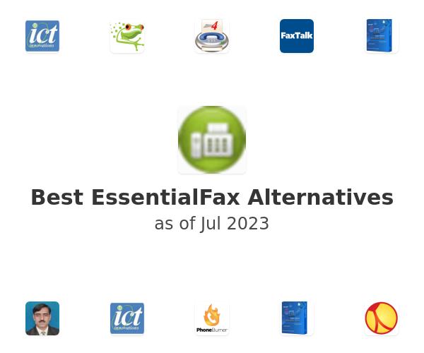 Best EssentialFax Alternatives