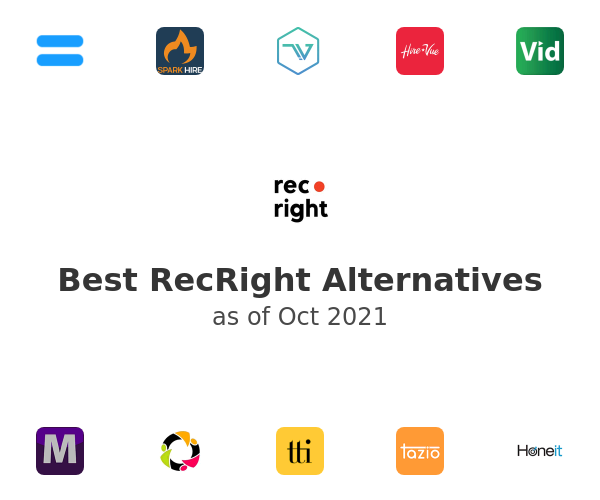 Best RecRight Alternatives