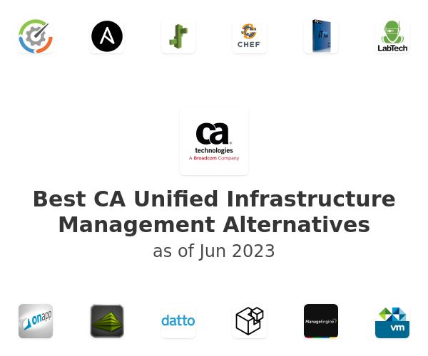 Best CA Unified Infrastructure Management Alternatives