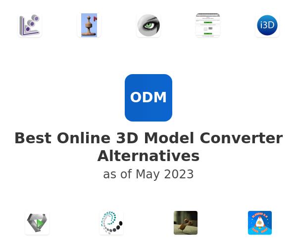 Best Online 3D Model Converter Alternatives