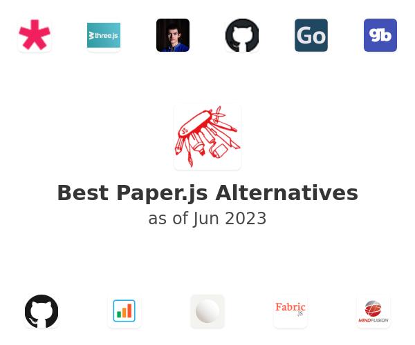 Best Paper.js Alternatives