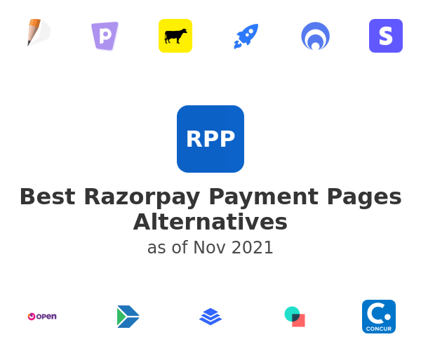 Best Razorpay Payment Pages Alternatives