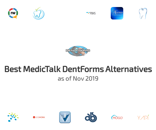 Best MedicTalk DentForms Alternatives