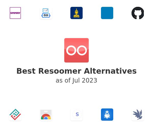 Best Resoomer Alternatives