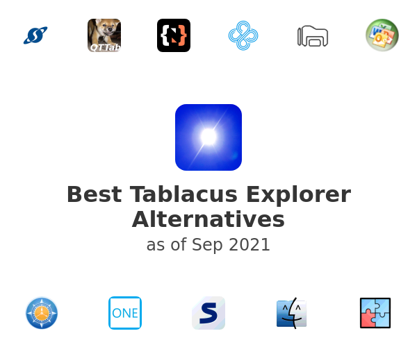 Best Tablacus Explorer Alternatives