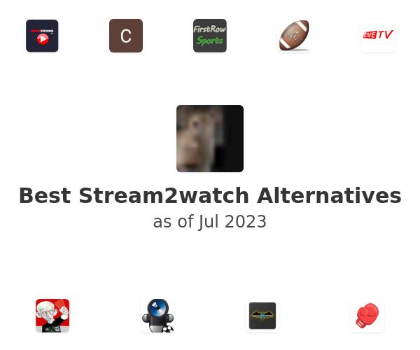 Best Stream2watch.me Alternatives
