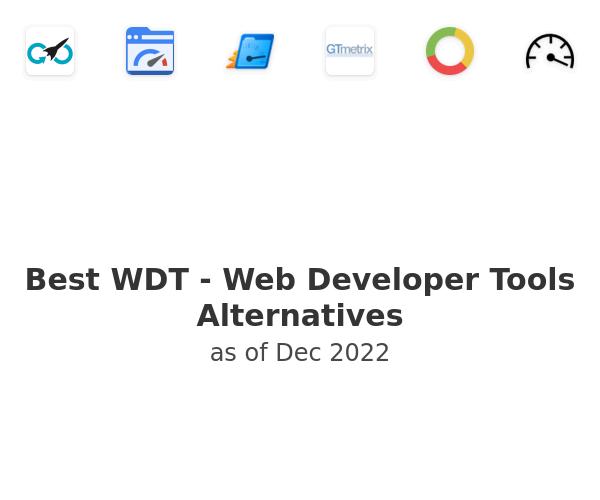 Best WDT - Web Developer Tools Alternatives