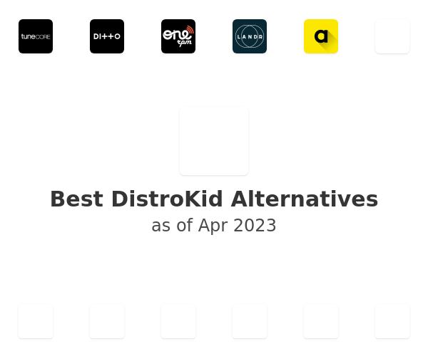 Best DistroKid Alternatives