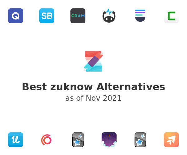 Best zuknow Alternatives
