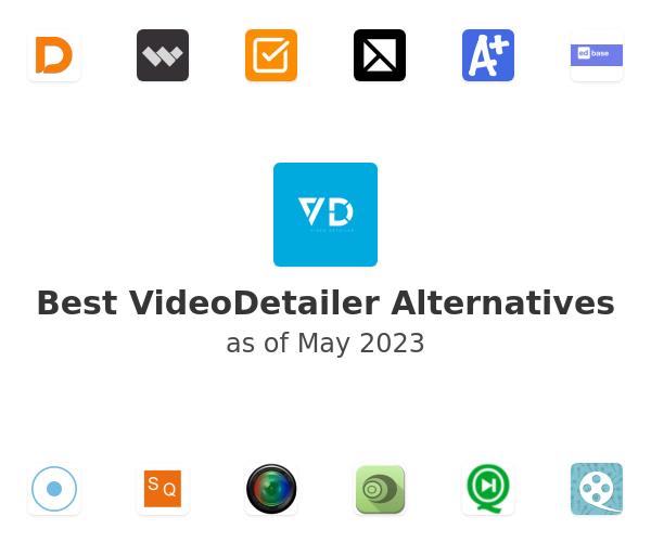 Best VideoDetailer Alternatives