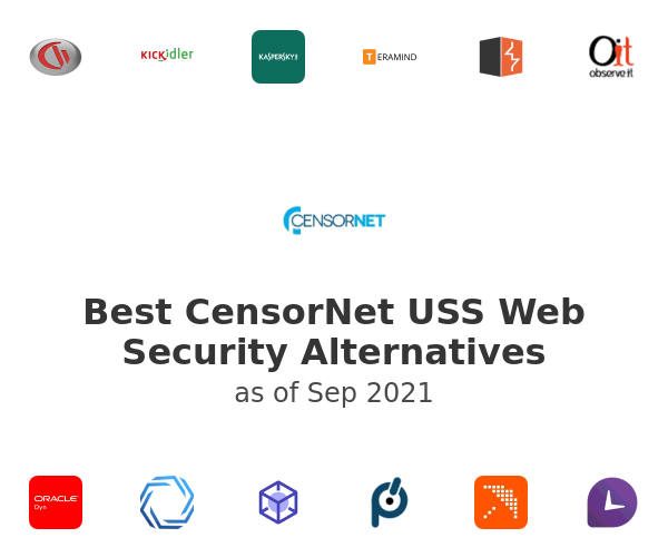 Best CensorNet USS Web Security Alternatives