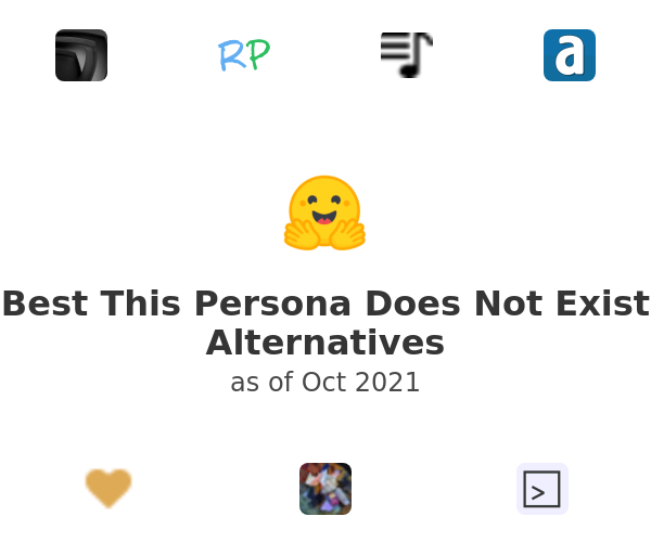 Best This Persona Does Not Exist Alternatives