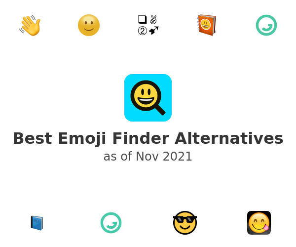 Best Emoji Finder Alternatives