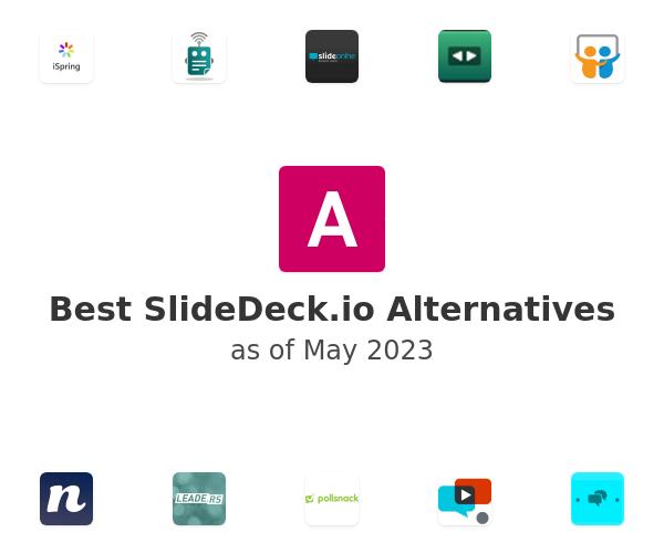 Best SlideDeck.io Alternatives
