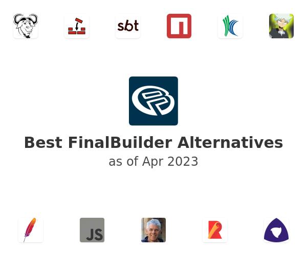 Best FinalBuilder Alternatives