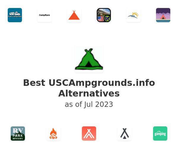 Best USCAmpgrounds.info Alternatives