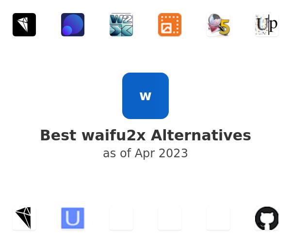Best waifu2x Alternatives