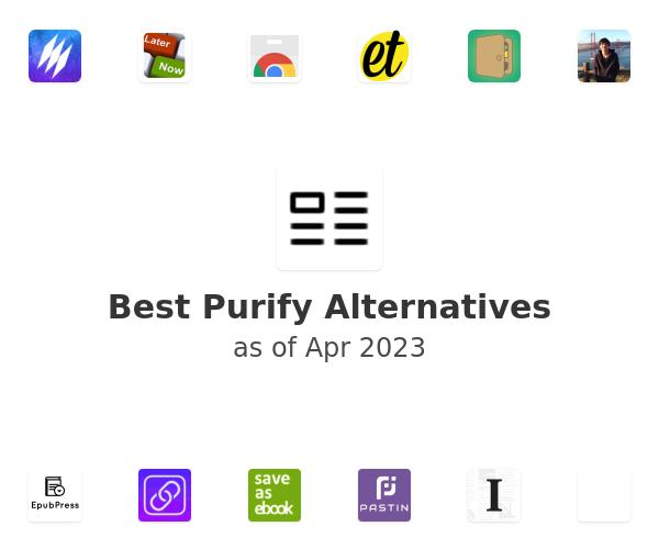 Best Purify Alternatives