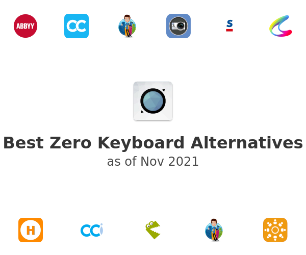 Best Zero Keyboard Alternatives