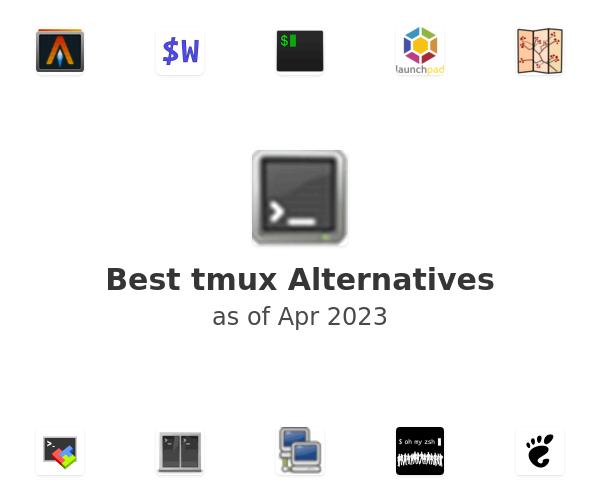 Best tmux Alternatives