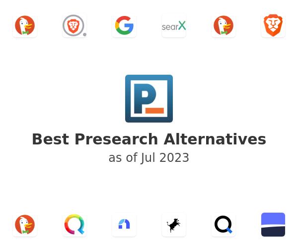 Best Presearch Alternatives