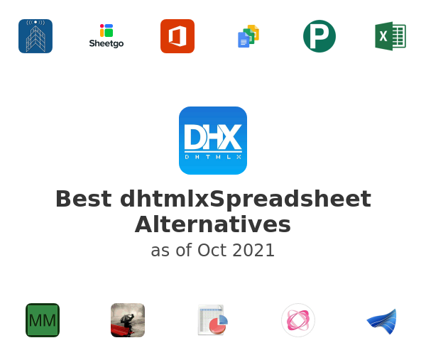 Best dhtmlxSpreadsheet Alternatives