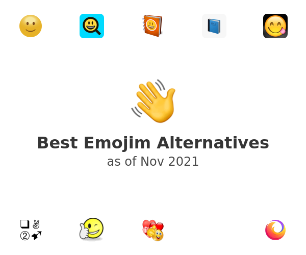 Best Emojim Alternatives