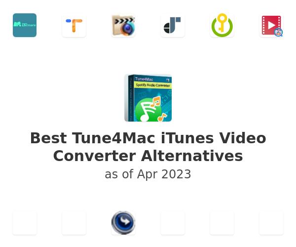 Best Tune4Mac iTunes Video Converter Alternatives