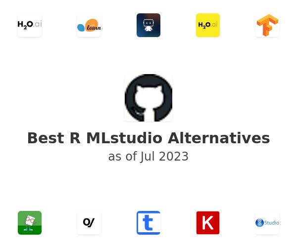 Best R MLstudio Alternatives