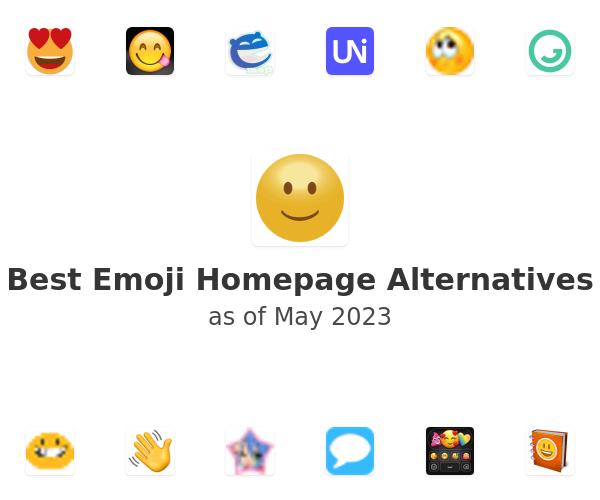 Best Emoji Homepage Alternatives
