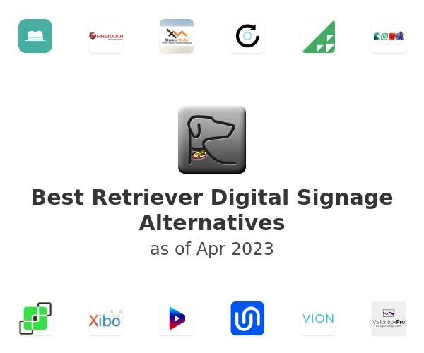 Best Retriever Digital Signage Alternatives