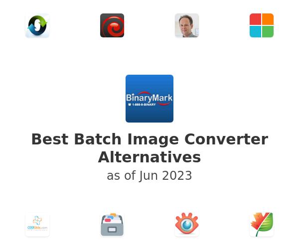 Best Batch Image Converter Alternatives