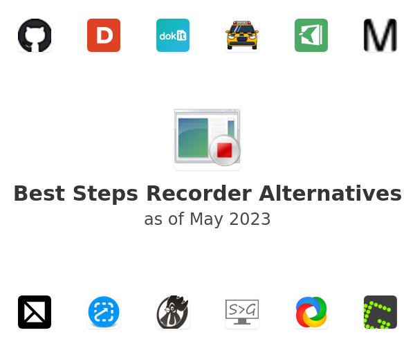 Best Steps Recorder Alternatives