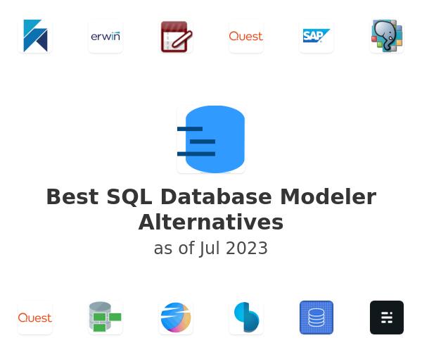 Best SQL Database Modeler Alternatives