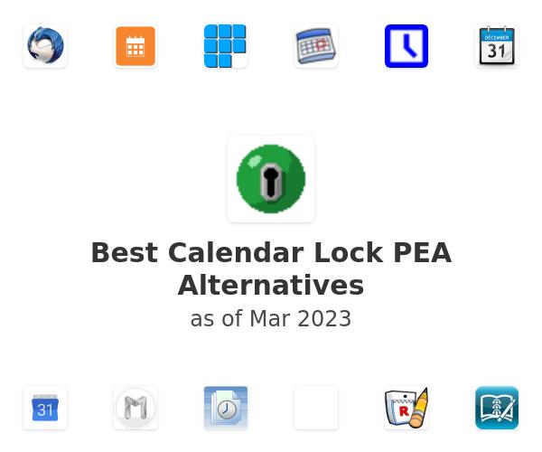 Best Calendar Lock PEA Alternatives (2020)