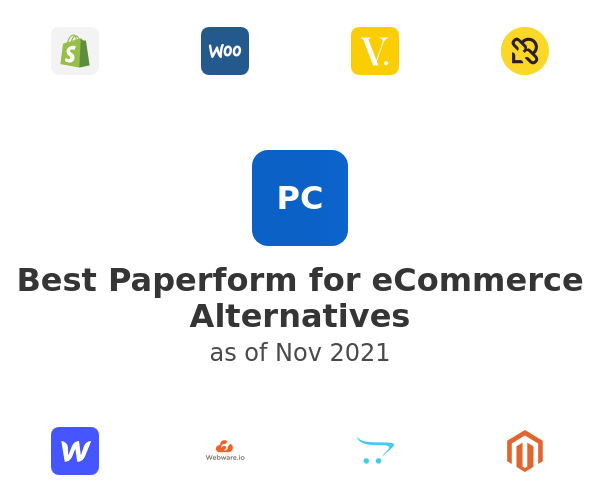 Best Paperform for eCommerce Alternatives