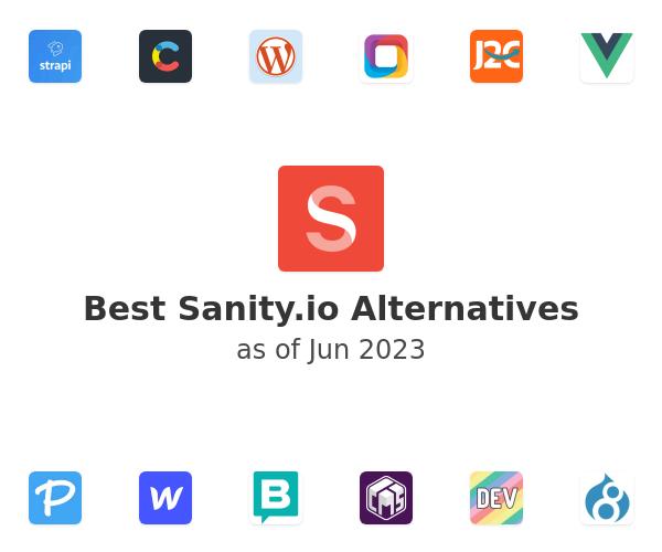 Best Sanity.io Alternatives