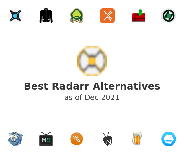 Best Radarr Alternatives