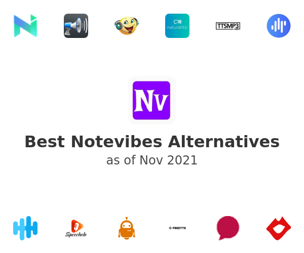 Best Notevibes Alternatives