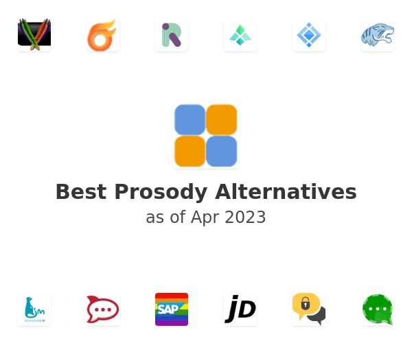 Best Prosody Alternatives