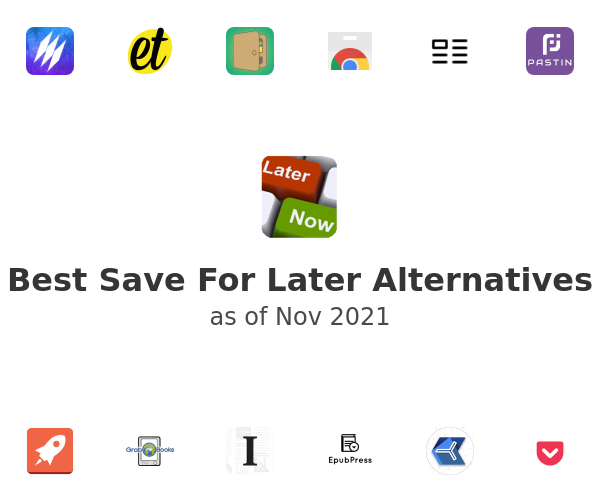 Best Save For Later Alternatives