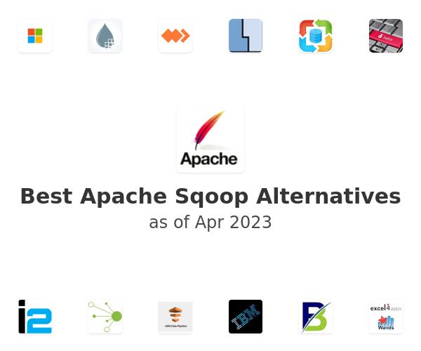 Best Apache Sqoop Alternatives